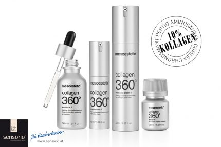 Mesoestetic Collagen 360° Flasche mit Pipette