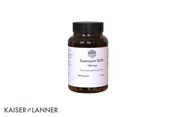 White Label - Coenzym Q10 100mg Kapseln Nahrungsergänzungsmittel